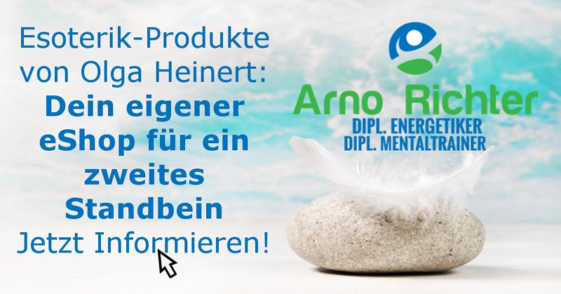 Olga Heinert Esoterik-Produkte: Dein eigener eShop als zweites Standbein.
